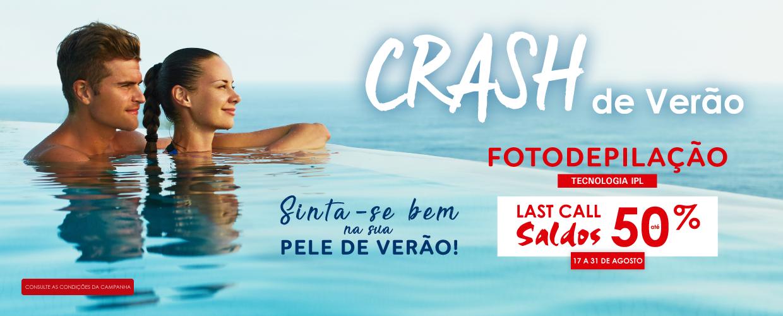 Crash de Verão até 50%