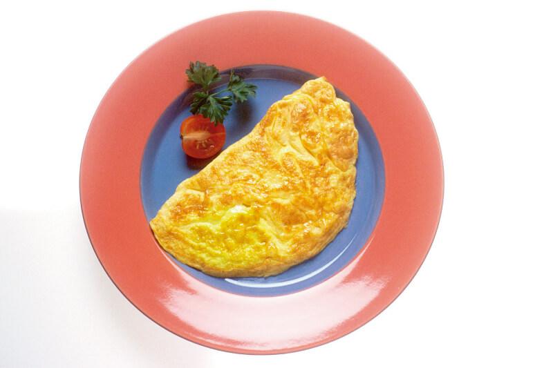 Omelete De Claras Pera E Canela