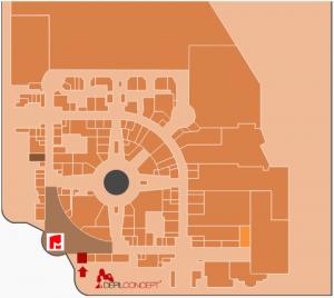 Mapa DepilConcept Colombo