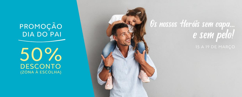 50% De Desconto Em Depilação: Especial Dia Do Pai